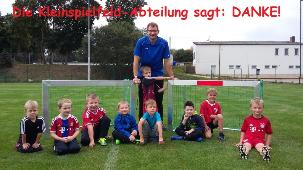 Photo of Neue Mini-Tore für das Kleinspielfeld