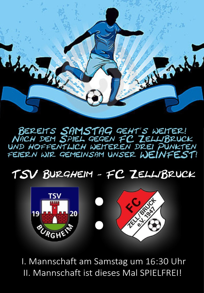 Photo of Spieltag: TSV Burgheim – FC Zell/Bruck heute um 16:30