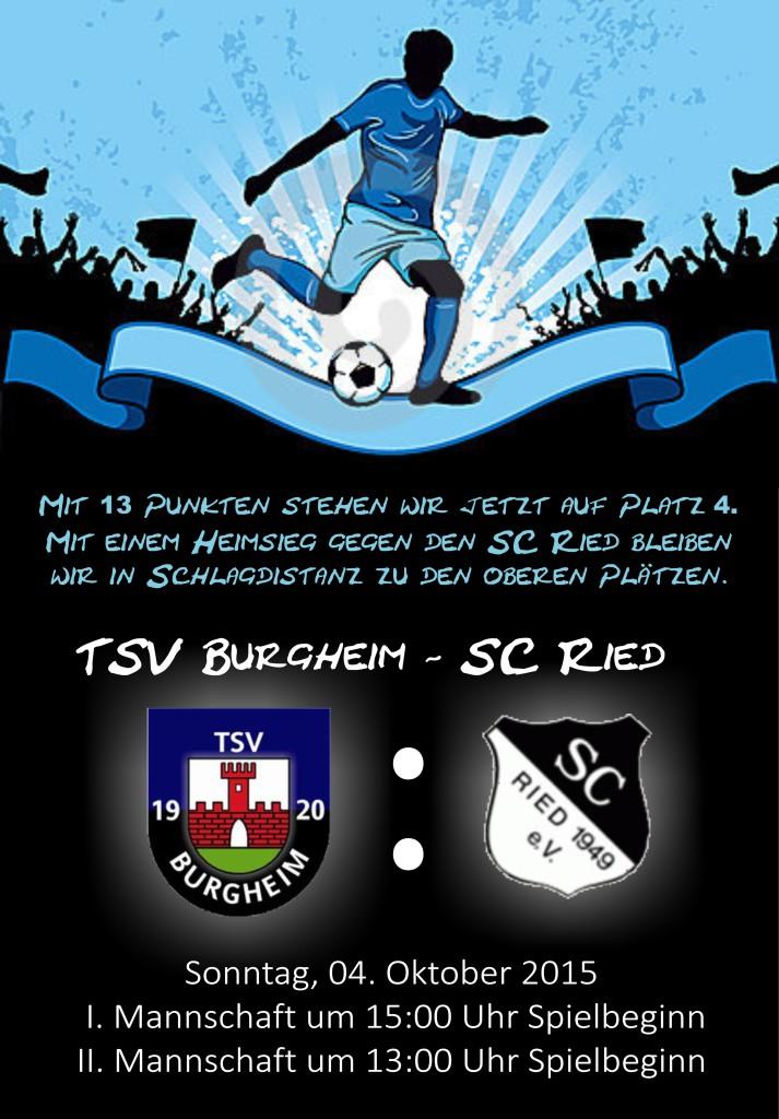 Bild von Spieltag: TSV Burgheim – SC Ried