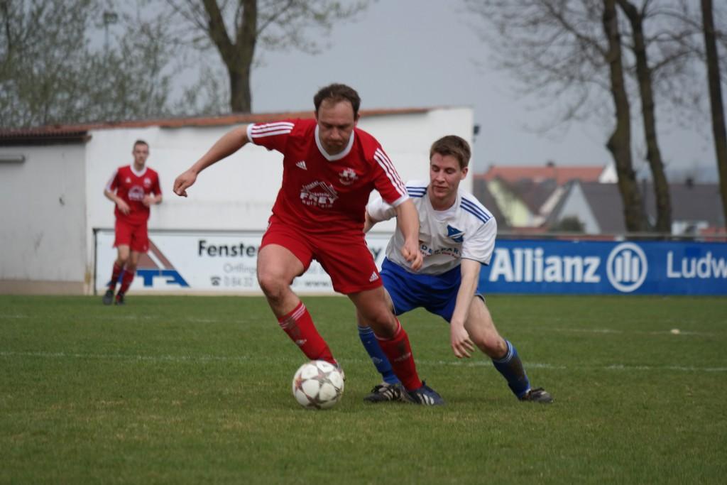 Bild von 03.04.2016 TSV Burgheim II : SV Feldheim II 4:1
