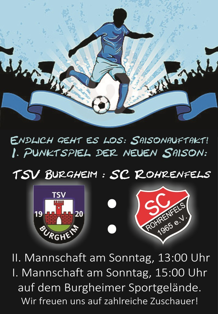 Photo of Saisonauftakt für den TSV Burgheim